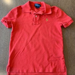 🏇🏼 2/$20 Orange Ralph Lauren Polo Shirt Size 6